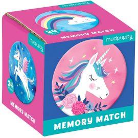 Mini-Memospiel - Unicorn Magic