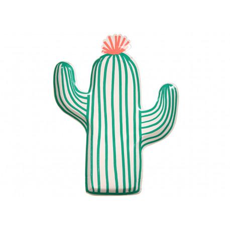 Set Cactustellern aus Papier