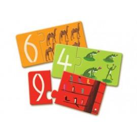 puzzle éducatif sur les chiffres
